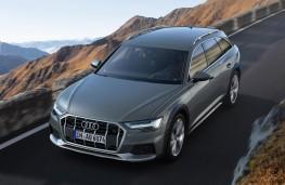 Audi A6 allroad quattro front