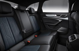 Audi A6 allroad quattro rear seats