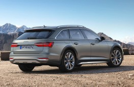 Audi A6 allroad quattro rear static