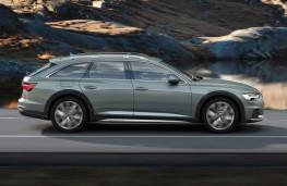 Audi A6 allroad quattro side