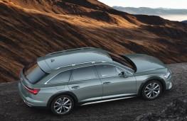 Audi A6 allroad quattro side overhead