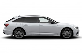 Audi A6 Avant Black Edition side