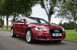 Audi A6 3.0 front action