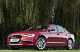 Audi A6 3.0 front static