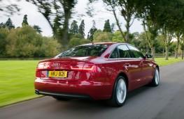 Audi A6 3.0 rear action