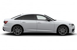Audi A6 Saloon Black Edition side