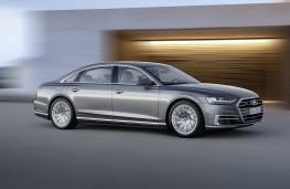 Audi A8 2017 action