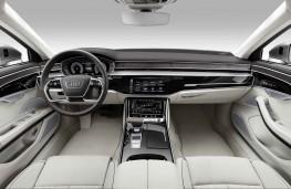 Audi A8 2017 cockpit