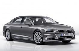 Audi A8 2017 front threequarter