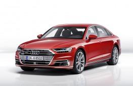 Audi A8 2017 front