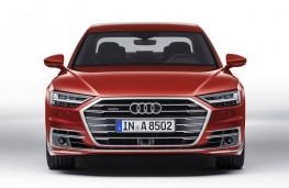 Audi A8 2017 head on