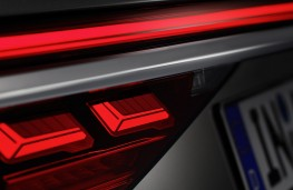 Audi A8 2017 rear light detail