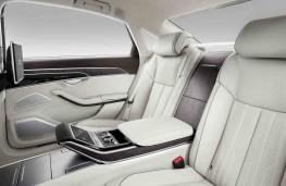 Audi A8 2017 rear seats