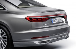 Audi A8 2017 rear