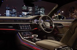 Audi A8 L, night interior