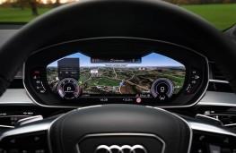 Audi A8 L, dash detail
