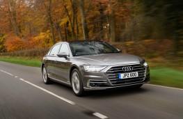 Audi A8 L, front action