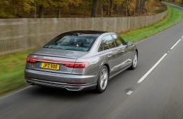 Audi A8 L, rear action