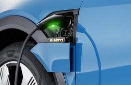 Audi e-tron charging point