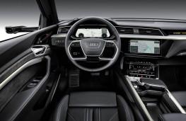 Audi e-tron cockpit