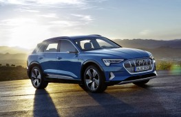 Audi e-tron front threequarter