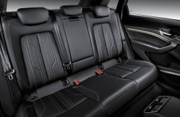 Audi e-tron rear seats