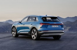 Audi e-tron rear threequarter