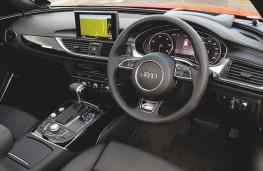 Audi A6 Avant, interior