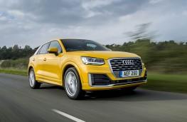 Audi Q2, front action