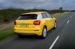 Audi Q2, rear action