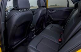 Audi Q2, rear seat