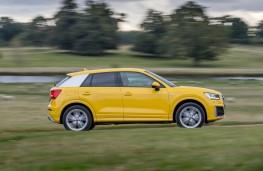 Audi Q2, side action
