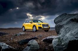Audi Q2, static rocks