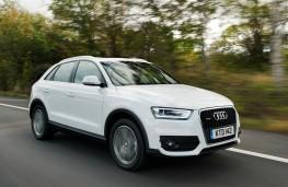 Audi Q3, front action