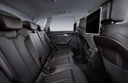 Audi Q5 2017 rear seats