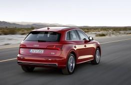 Audi Q5 2017 rear