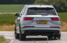 Audi Q7, rear action