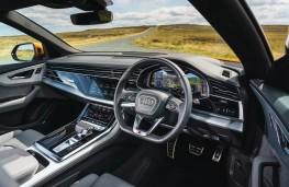 Audi Q8, dashboard