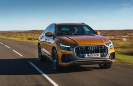 Audi Q8, front action