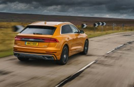 Audi Q8, rear action