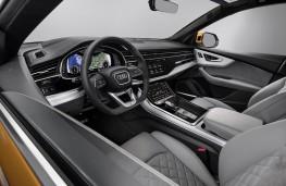 Audi Q8 2018 cockpit