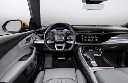 Audi Q8 2018 fascia