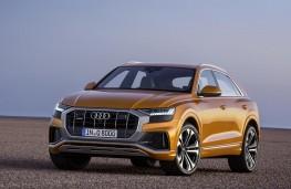 Audi Q8 2018 front