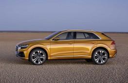 Audi Q8 2018 profile