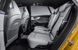 Audi Q8 2018 rear seats