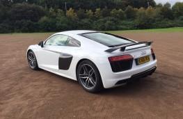 Audi R8, rear