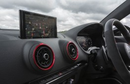 Audi RS 3 Saloon, dash detail