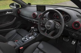 Audi RS 3 Saloon, dashboard