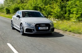 Audi RS 3 Saloon, front action