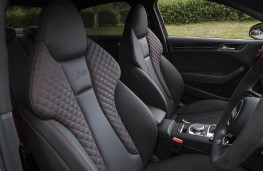 Audi RS 3 Saloon, front seats